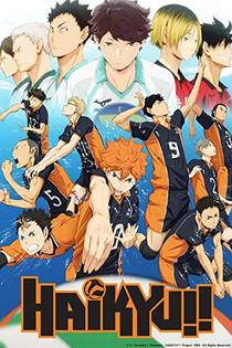 Picture of a TV show: Haikyuu!!
