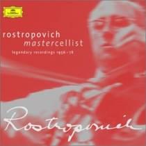 Picture of a band or musician: Mstislav Rostropovich