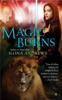 Picture of a book: Magic Burns