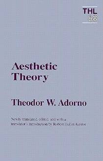 Picture of a book: Aesthetic Theory