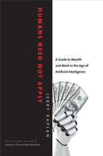 Picture of a book: Humans Need Not Apply: A Guide To Wealth And Work In The Age Of Artificial Intelligence