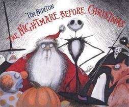 Picture of a book: Tim Burton's The Nightmare Before Christmas