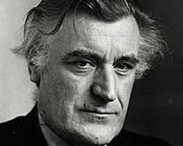 Picture of an author: Ted Hughes