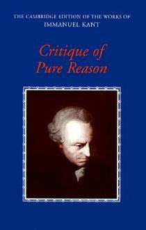Picture of a book: Critique Of Pure Reason