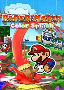 Picture of a game: Paper Mario: Color Splash