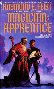 Picture of a book: Magician: Apprentice