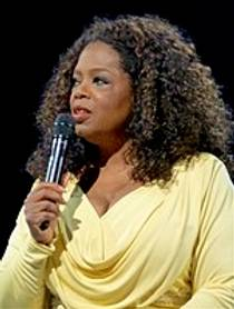 Picture of an author: Oprah Winfrey