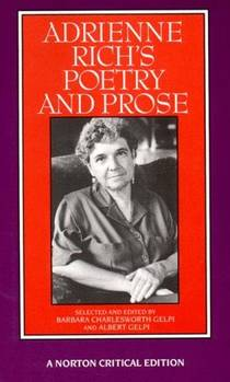 Picture of a book: Adrienne Rich's Poetry and Prose