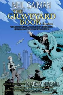 Picture of a book: The Graveyard Book, Volume 2