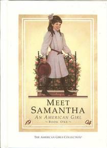 Picture of a book: Meet Samantha: An American Girl