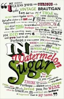 Picture of a book: In Watermelon Sugar