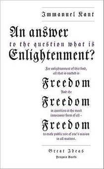 Picture of a book: An Answer to the Question: What Is Enlightenment? (Great Ideas)