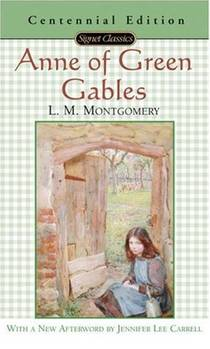 Picture of a book: Anne Of Green Gables