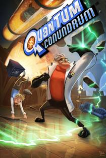 Picture of a game: Quantum Conundrum