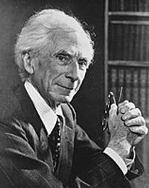 Picture of an author: Bertrand Russell
