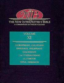 Picture of a book: The New Interpreter's Bible: II Corinthians - Philemon