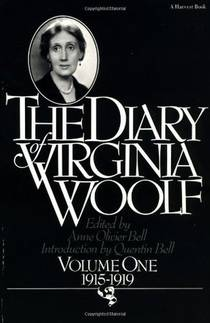 Picture of a book: The Diary of Virginia Woolf, Volume One: 1915-1919