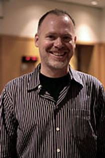 Picture of an author: Scott Westerfeld