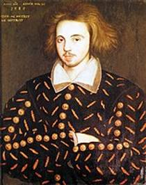 Picture of an author: Christopher Marlowe