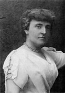 Picture of an author: Frances Hodgson Burnett