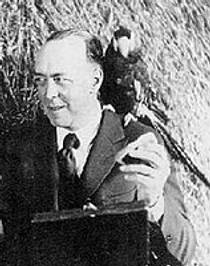 Picture of an author: Edgar Rice Burroughs