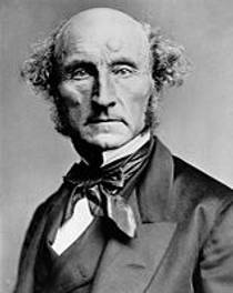 Picture of an author: John Stuart Mill