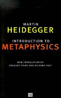 Picture of a book: Introduction to Metaphysics