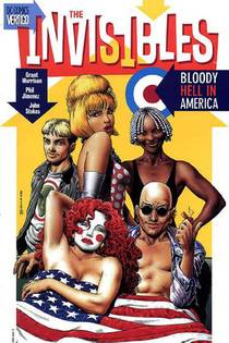 Picture of a book: The Invisibles, Vol. 4: Bloody Hell in America