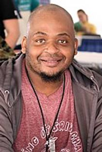 Picture of an author: Kiese Laymon