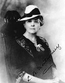 Picture of an author: L.M. Montgomery