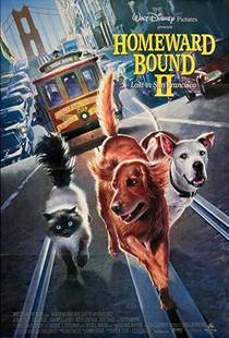 Picture of a movie: Homeward Bound II: Lost In San Francisco
