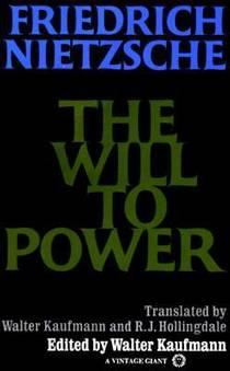 Picture of a book: The Will To Power