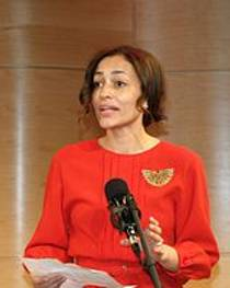 Picture of an author: Zadie Smith