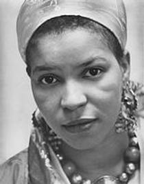 Picture of an author: Ntozake Shange