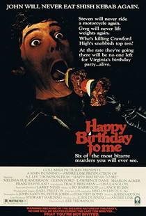 Picture of a movie: Happy Birthday To Me