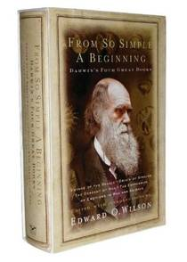 Picture of a book: From So Simple a Beginning: Voyage of the Beagle/Origin of Species/Descent of Man/Expression of Emotions in Man & Animals