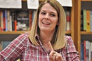 Picture of an author: Jennifer A. Nielsen