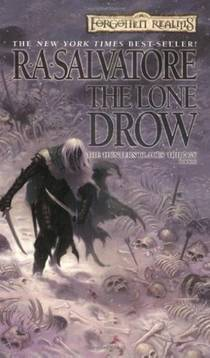 Picture of a book: The Lone Drow