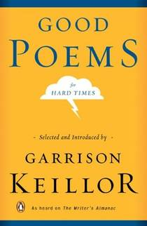 Picture of a book: Good Poems for Hard Times