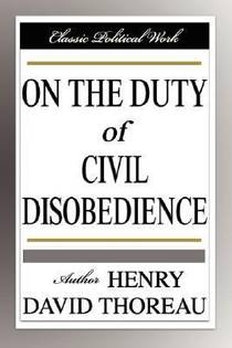 Picture of a book: On The Duty Of Civil Disobedience