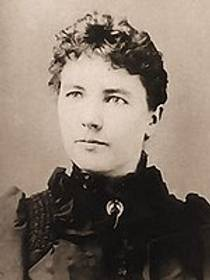 Picture of an author: Laura Ingalls Wilder