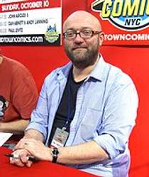 Picture of an author: Dan Abnett