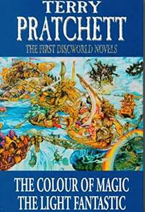 Picture of a book: The First Discworld Novels The Colour Of Magic And The Light Fantastic