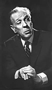 Picture of an author: Jorge Luis Borges