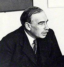 Picture of an author: John Maynard Keynes