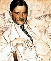 Picture of an author: Yevgeny Zamyatin