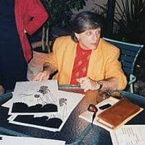 Picture of an author: Harlan Ellison