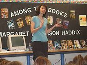 Picture of an author: Margaret Peterson Haddix