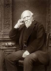 Picture of an author: Robert Browning
