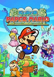 Picture of a game: Super Paper Mario